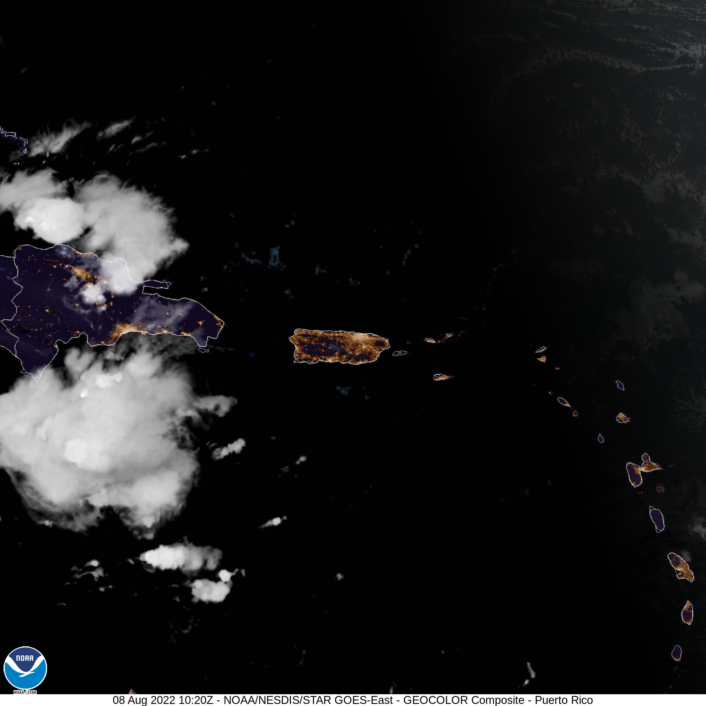 Puerto Rico | GOES East - National Weather Service - NOAA-USA