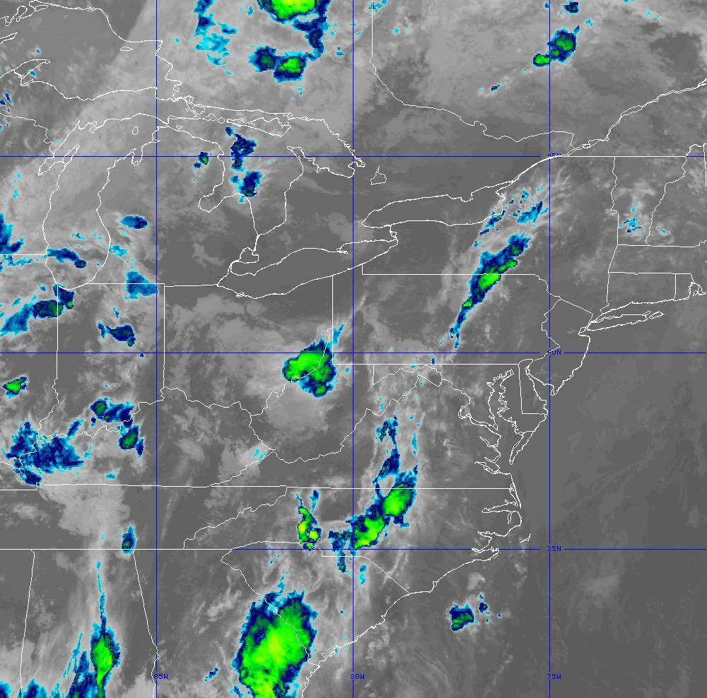 Band 11 - 8.4 µm - Cloud Top - IR - 29 May 2020 - 0300 UTC