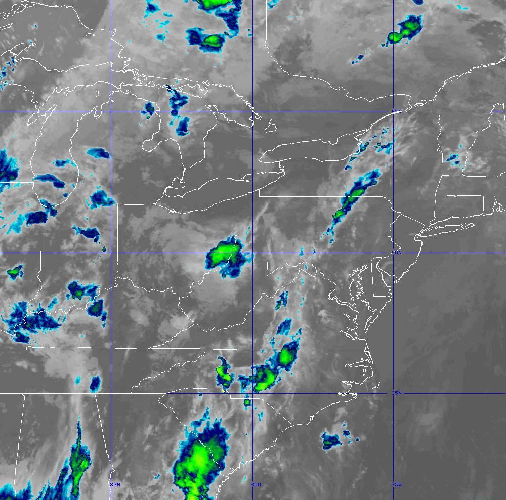 Band 11 - 8.4 µm - Cloud Top - IR - 29 May 2020 - 0320 UTC