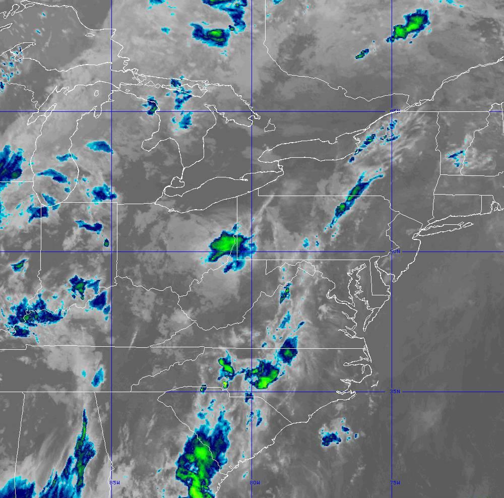 Band 11 - 8.4 µm - Cloud Top - IR - 29 May 2020 - 0340 UTC