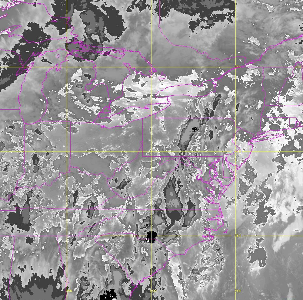 Band 14 - 11.2 µm - Longwave Window - IR - 29 May 2020 - 0000 UTC