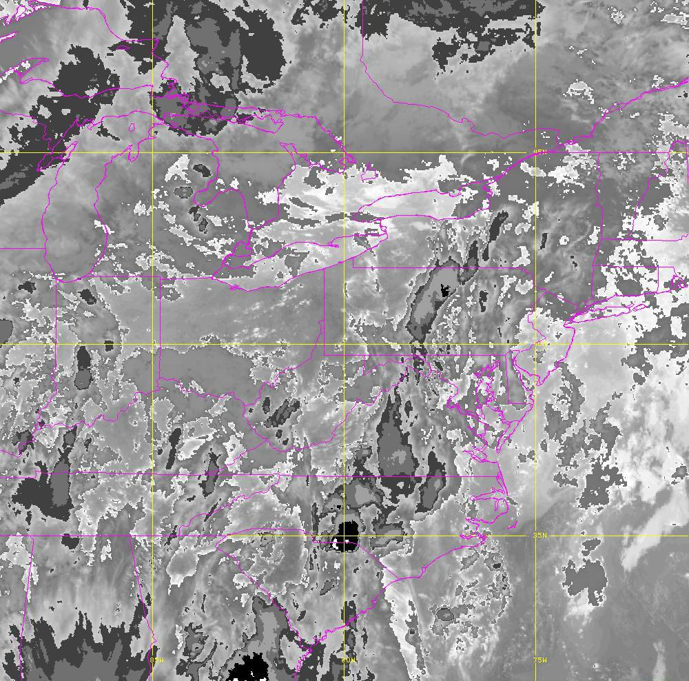 Band 14 - 11.2 µm - Longwave Window - IR - 29 May 2020 - 0010 UTC