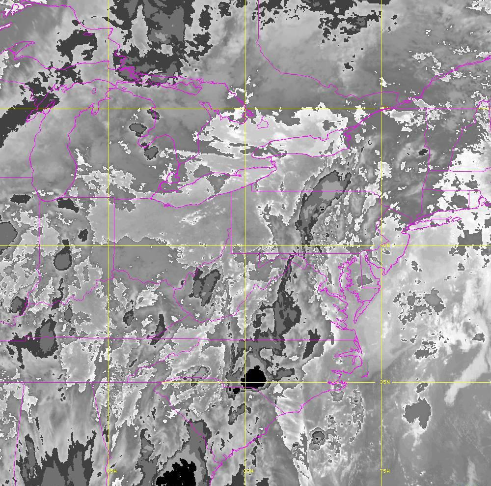 Band 14 - 11.2 µm - Longwave Window - IR - 29 May 2020 - 0050 UTC