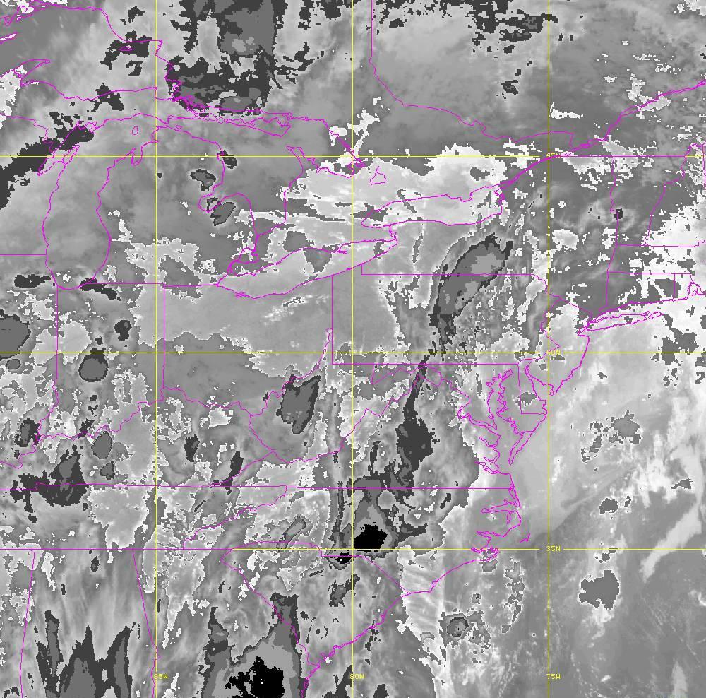 Band 14 - 11.2 µm - Longwave Window - IR - 29 May 2020 - 0110 UTC