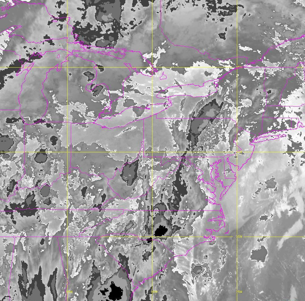 Band 14 - 11.2 µm - Longwave Window - IR - 29 May 2020 - 0120 UTC