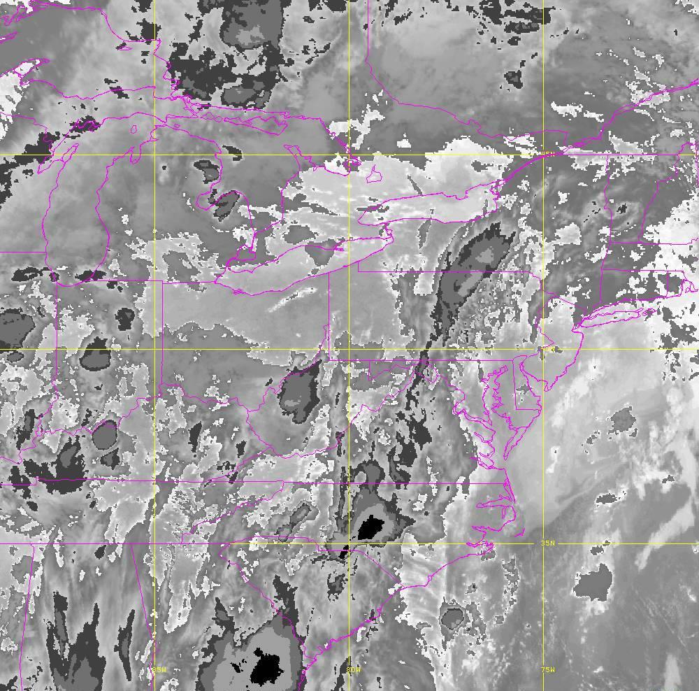 Band 14 - 11.2 µm - Longwave Window - IR - 29 May 2020 - 0130 UTC