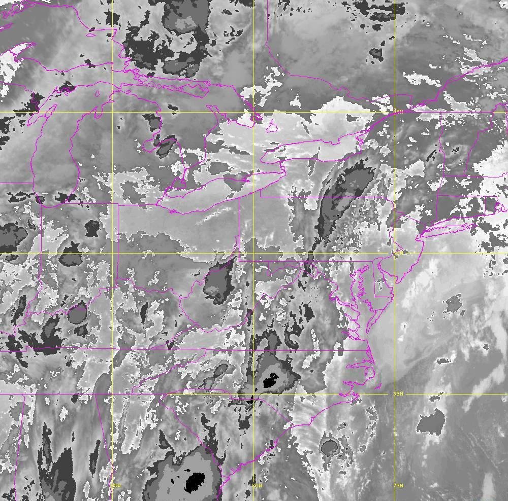 Band 14 - 11.2 µm - Longwave Window - IR - 29 May 2020 - 0140 UTC
