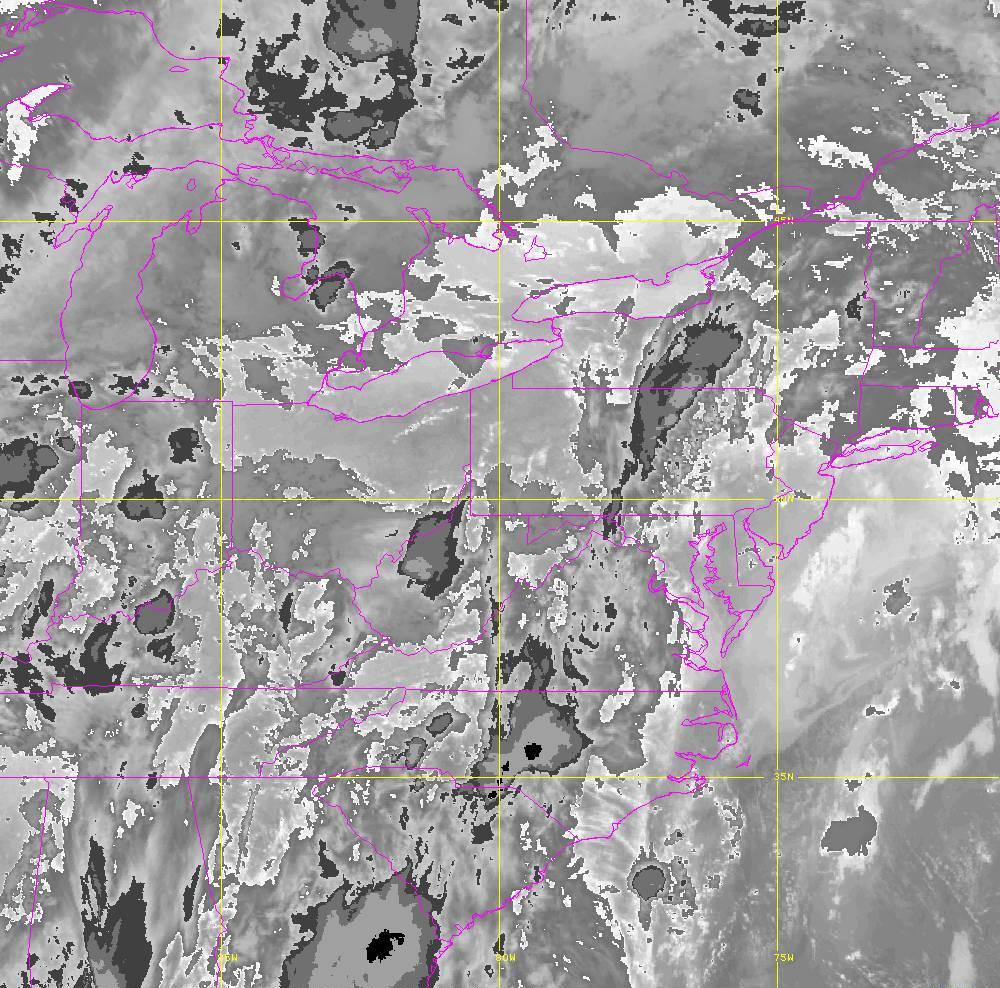 Band 14 - 11.2 µm - Longwave Window - IR - 29 May 2020 - 0150 UTC