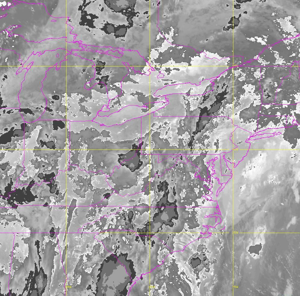 Band 14 - 11.2 µm - Longwave Window - IR - 29 May 2020 - 0240 UTC