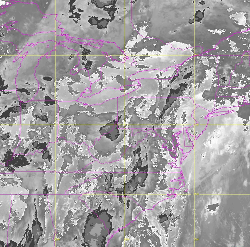 Band 14 - 11.2 µm - Longwave Window - IR - 29 May 2020 - 0300 UTC