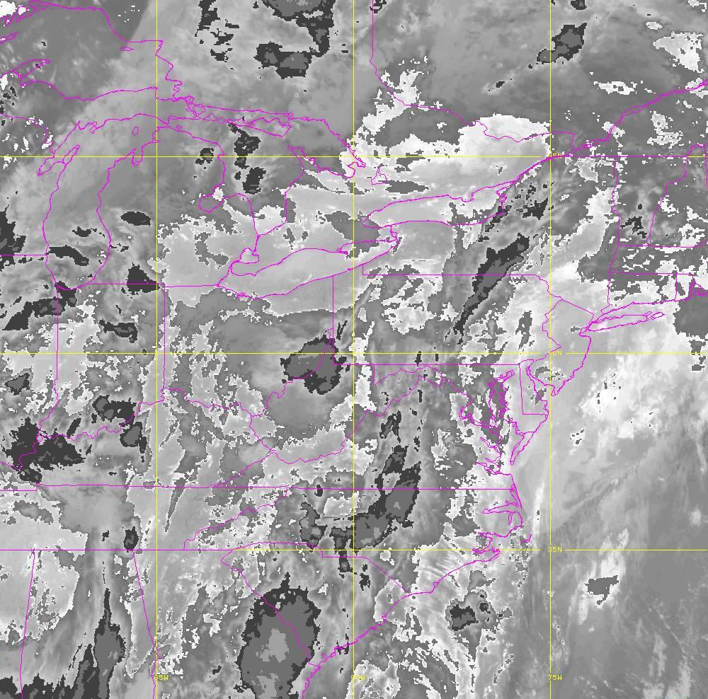Band 14 - 11.2 µm - Longwave Window - IR - 29 May 2020 - 0310 UTC