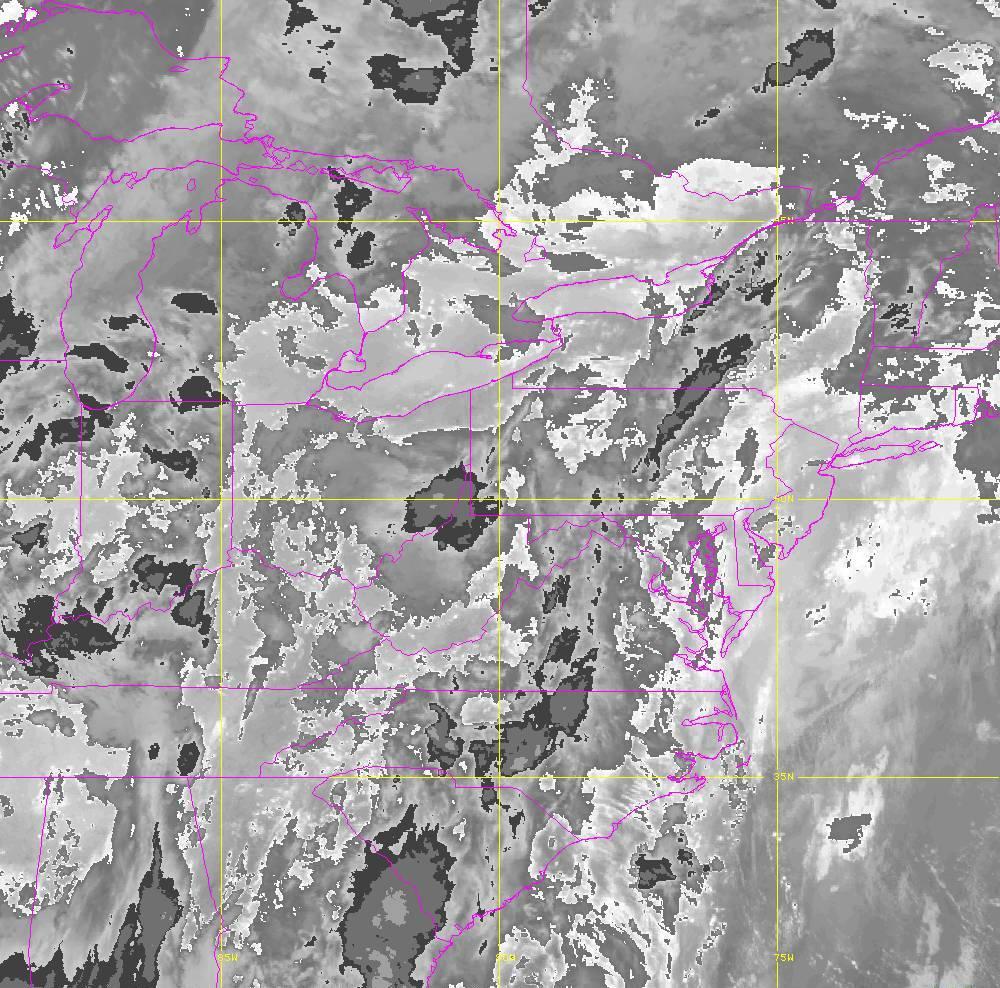 Band 14 - 11.2 µm - Longwave Window - IR - 29 May 2020 - 0320 UTC