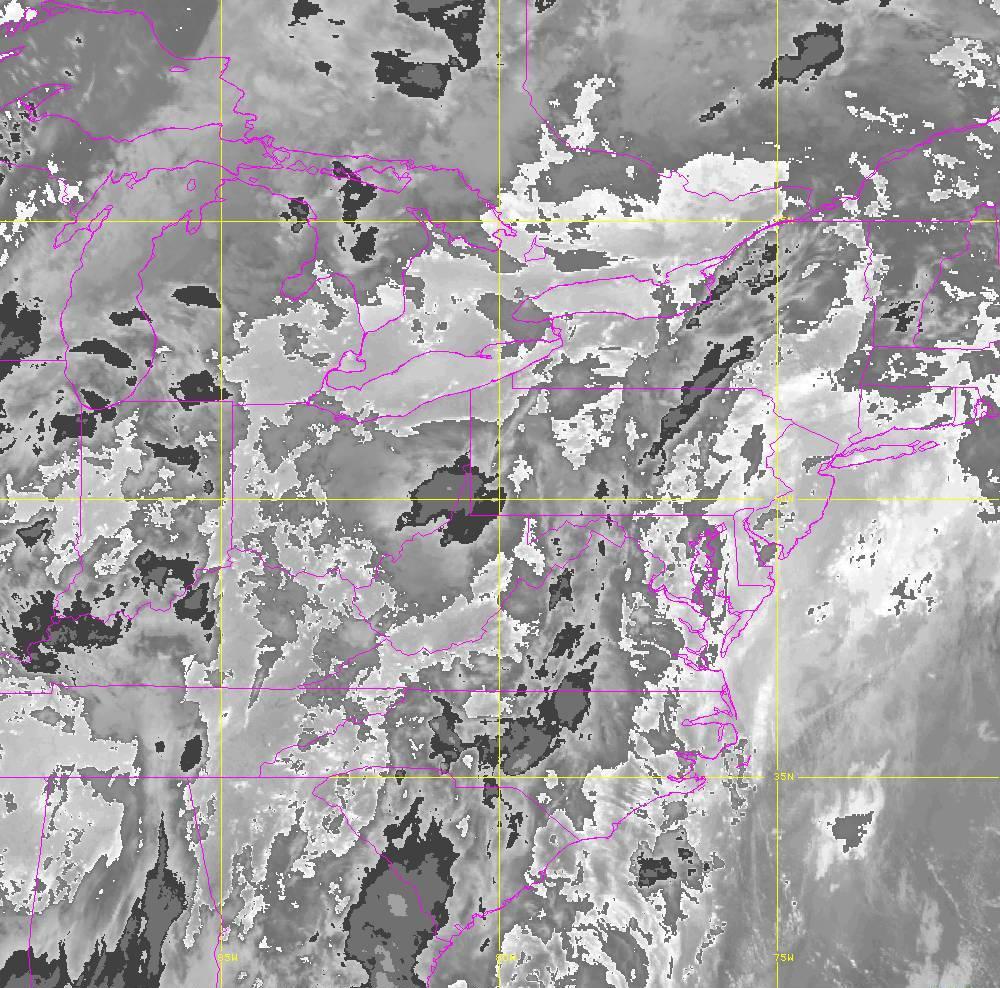 Band 14 - 11.2 µm - Longwave Window - IR - 29 May 2020 - 0330 UTC