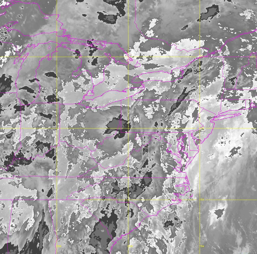 Band 14 - 11.2 µm - Longwave Window - IR - 29 May 2020 - 0340 UTC