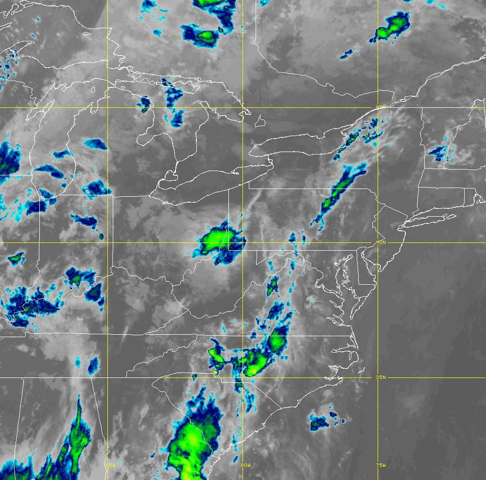 Band 15 - 12.3 µm - Dirty Longwave Window - IR - 29 May 2020 - 0330 UTC