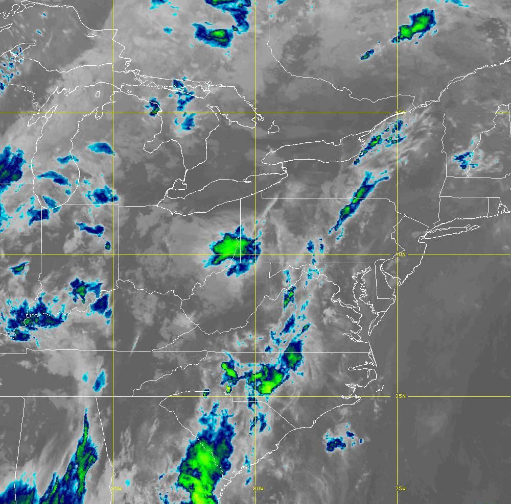 Band 15 - 12.3 µm - Dirty Longwave Window - IR - 29 May 2020 - 0340 UTC