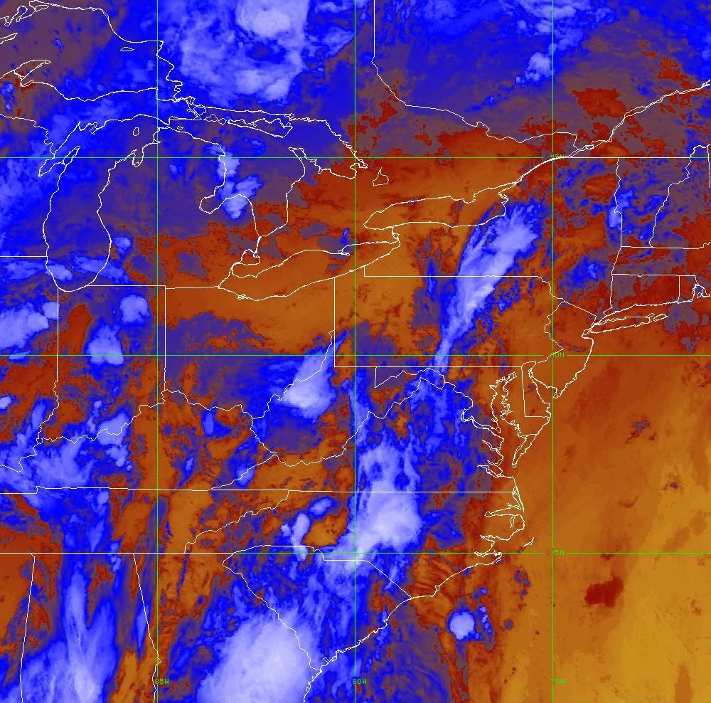 Band 16 - 13.3 µm - CO₂ Longwave - IR - 29 May 2020 - 0210 UTC