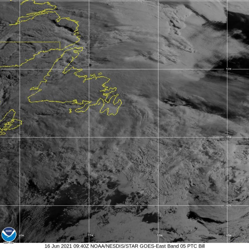 Band 5 - 1.6 µm - Snow/Ice - Near IR - 16 Jun 2021 - 0940 UTC