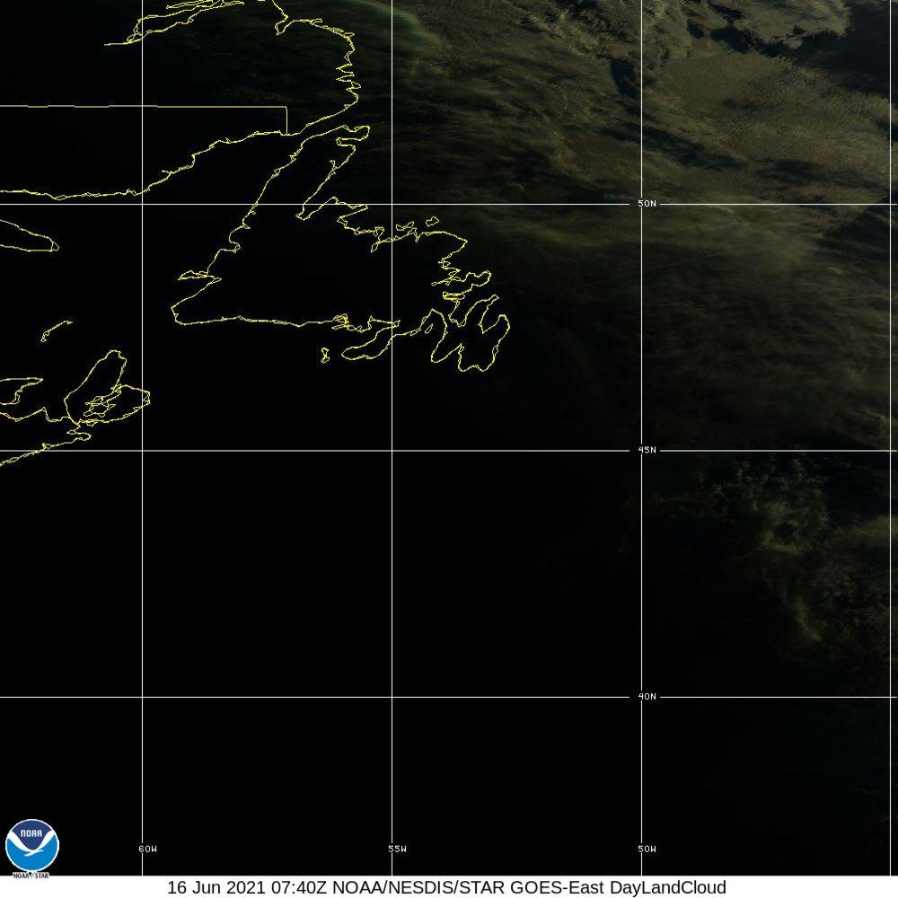 Day Land Cloud - EUMETSAT Natural Color - 16 Jun 2021 - 0740 UTC