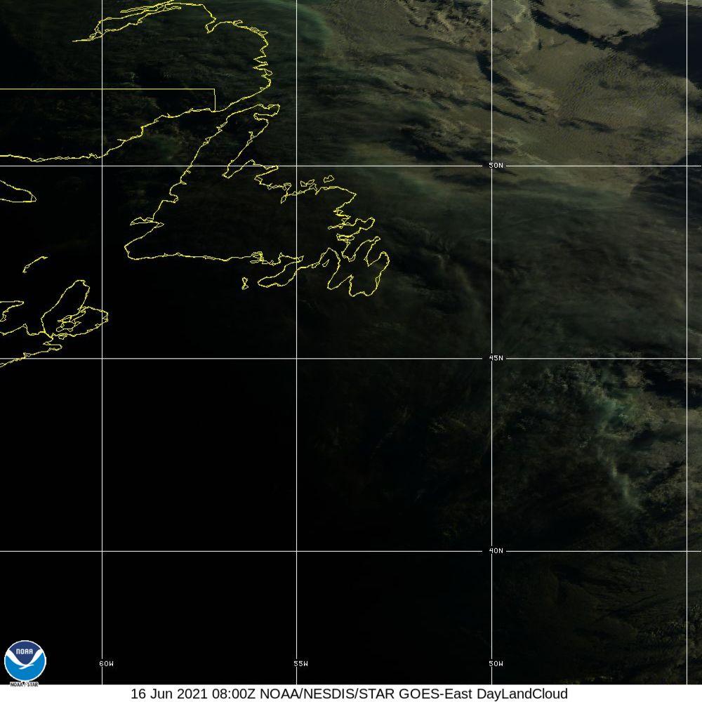 Day Land Cloud - EUMETSAT Natural Color - 16 Jun 2021 - 0800 UTC
