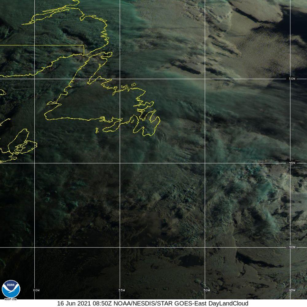Day Land Cloud - EUMETSAT Natural Color - 16 Jun 2021 - 0850 UTC