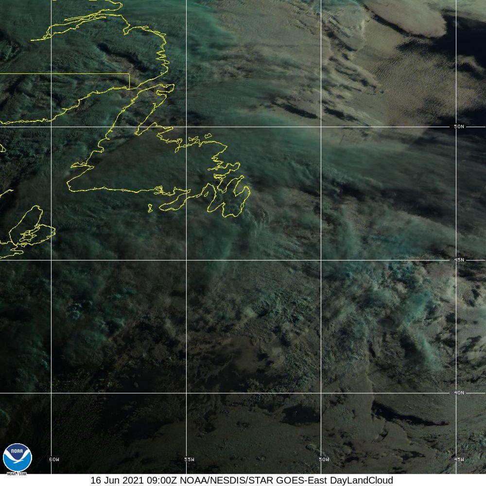 Day Land Cloud - EUMETSAT Natural Color - 16 Jun 2021 - 0900 UTC