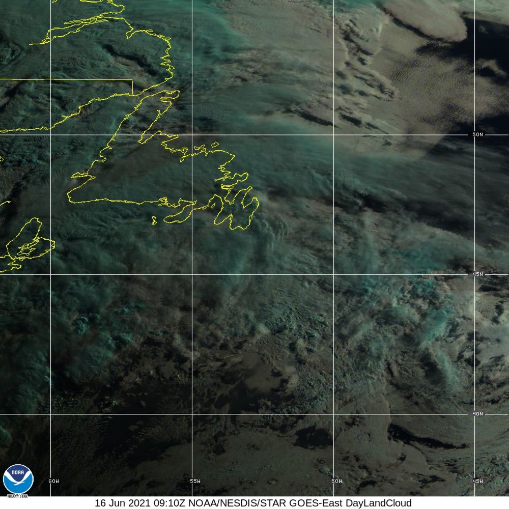 Day Land Cloud - EUMETSAT Natural Color - 16 Jun 2021 - 0910 UTC