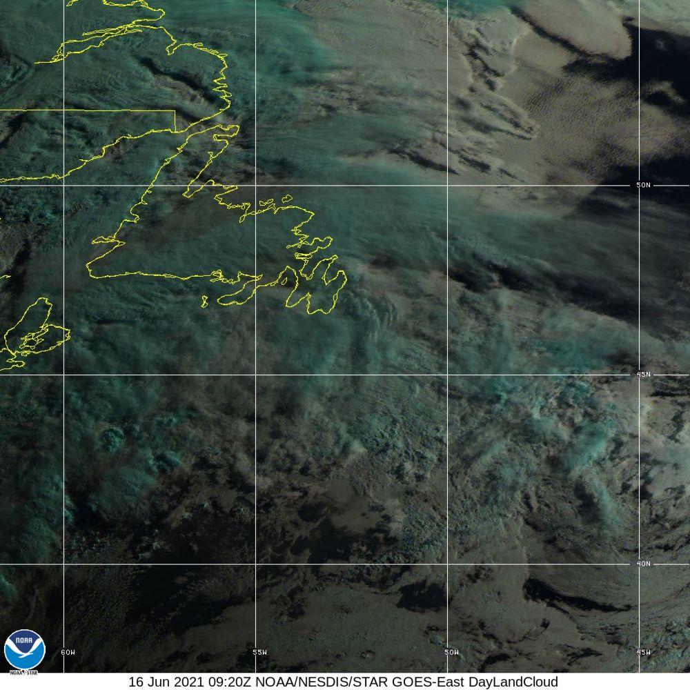 Day Land Cloud - EUMETSAT Natural Color - 16 Jun 2021 - 0920 UTC