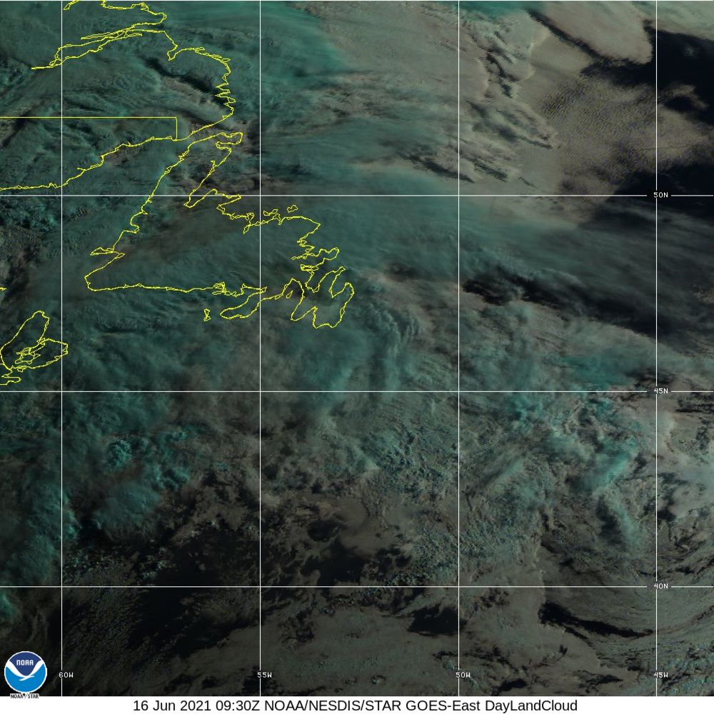 Day Land Cloud - EUMETSAT Natural Color - 16 Jun 2021 - 0930 UTC