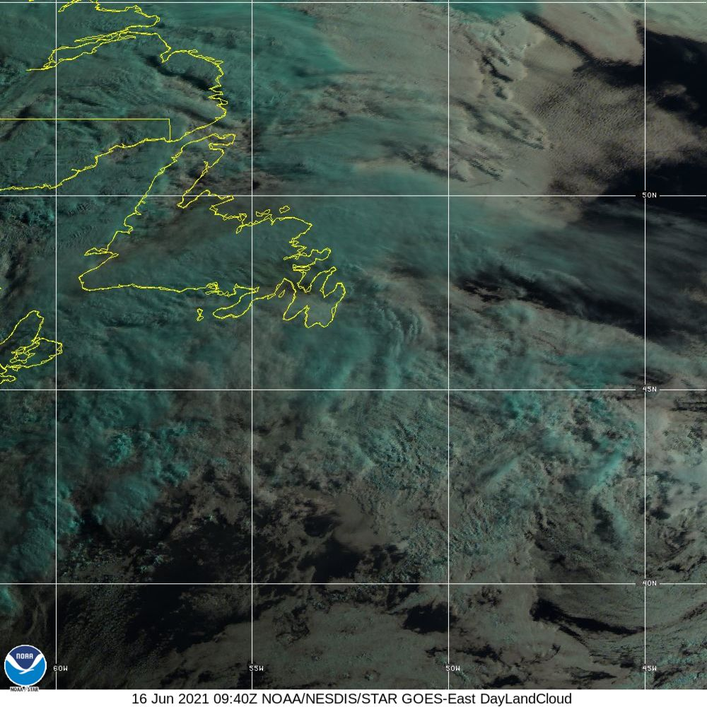 Day Land Cloud - EUMETSAT Natural Color - 16 Jun 2021 - 0940 UTC