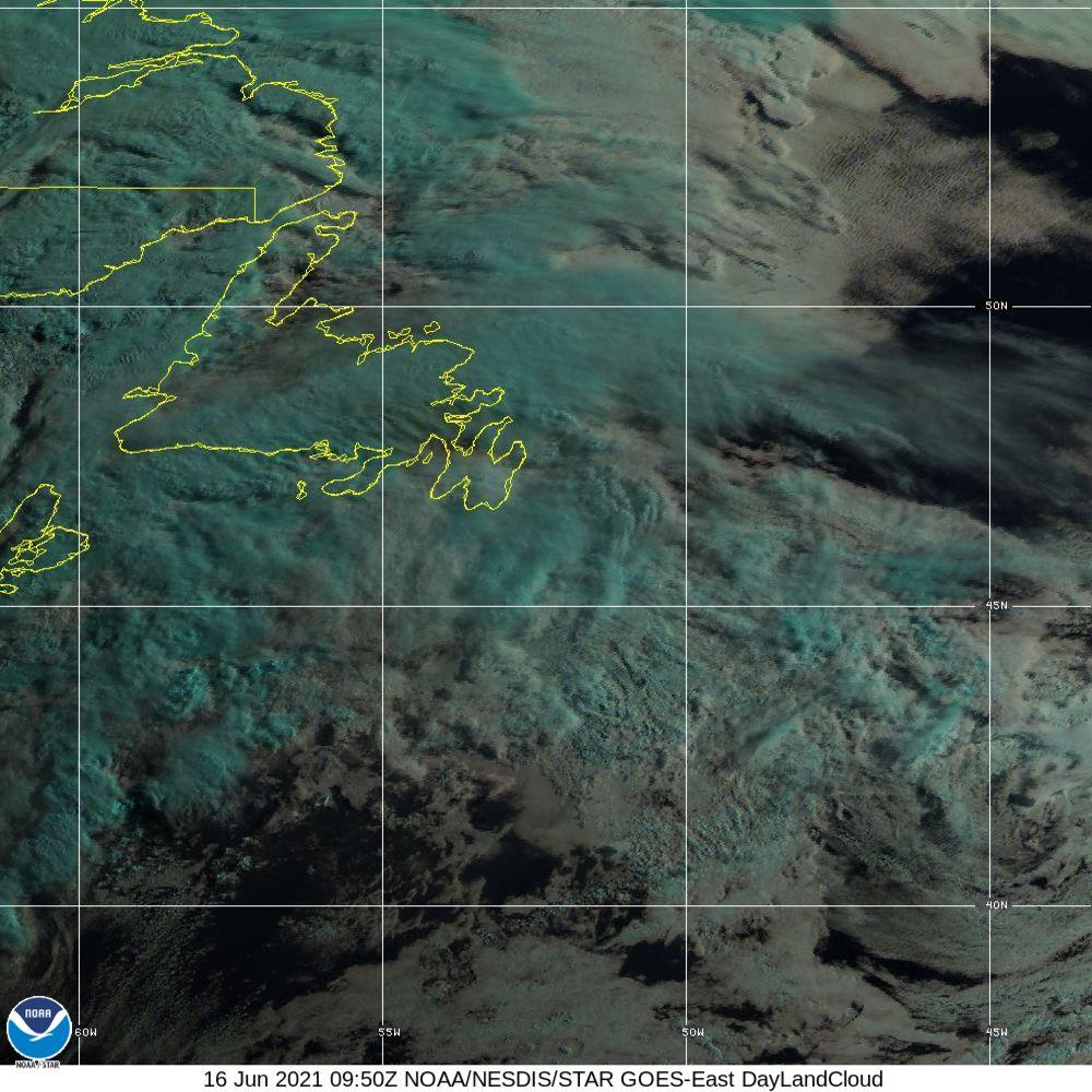 Day Land Cloud - EUMETSAT Natural Color - 16 Jun 2021 - 0950 UTC