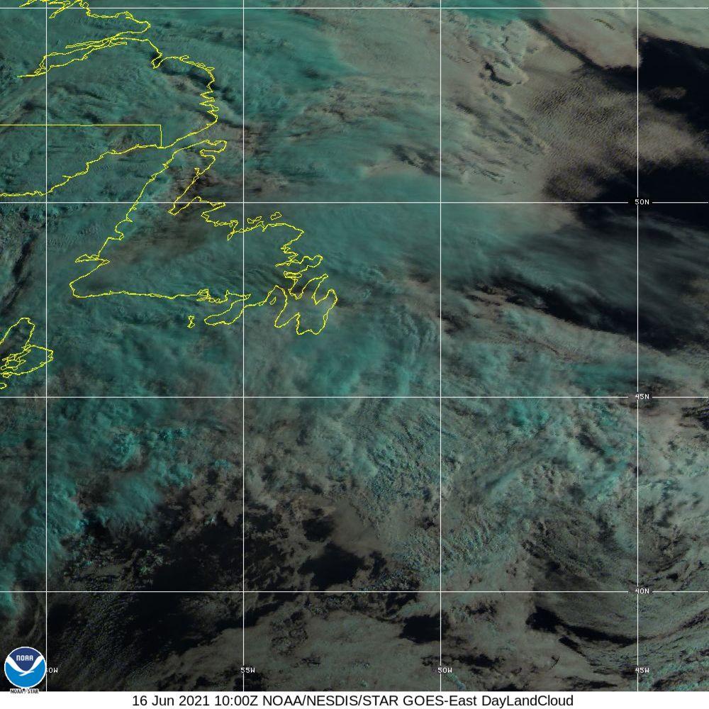 Day Land Cloud - EUMETSAT Natural Color - 16 Jun 2021 - 1000 UTC