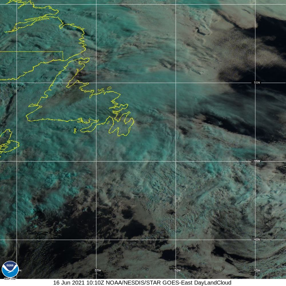Day Land Cloud - EUMETSAT Natural Color - 16 Jun 2021 - 1010 UTC
