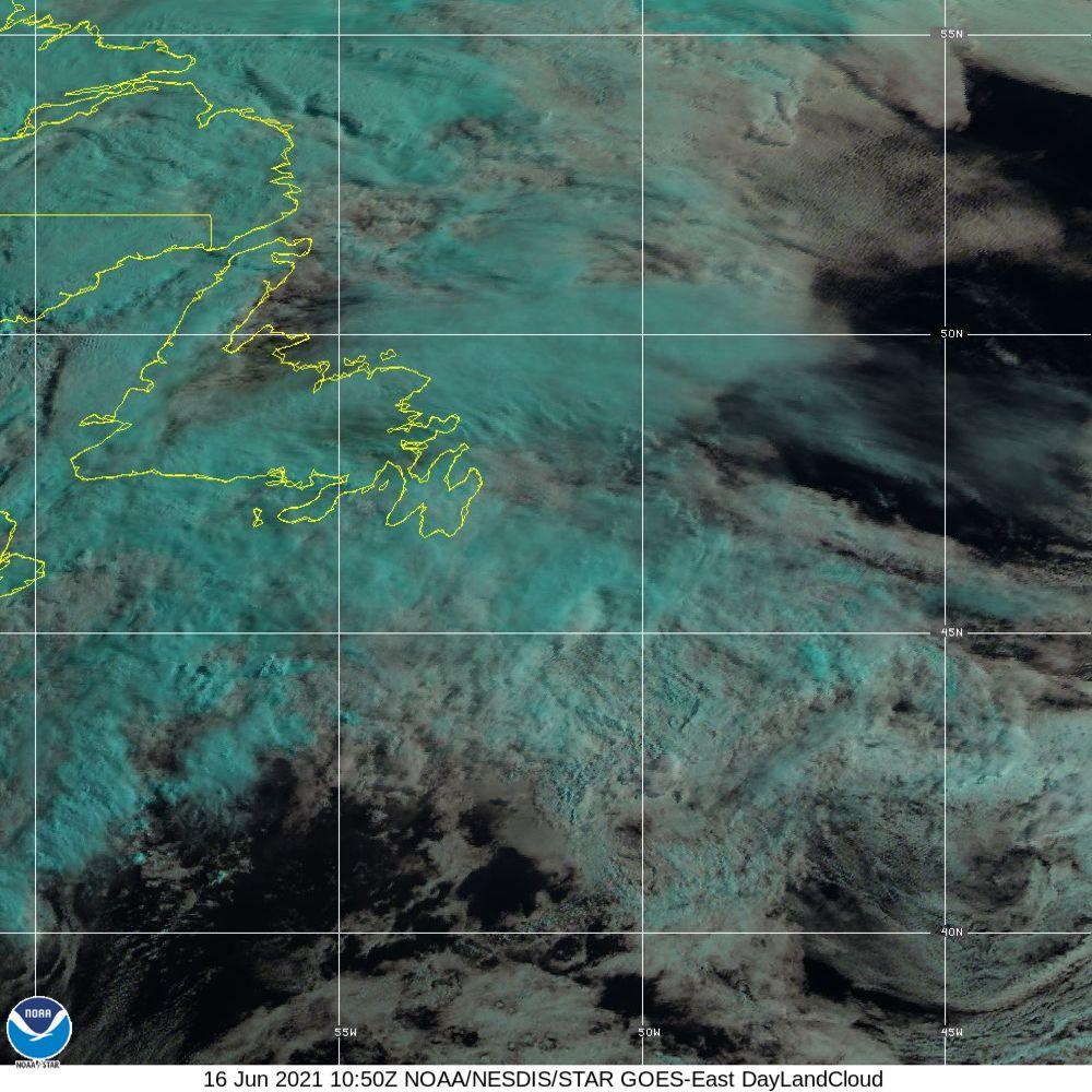 Day Land Cloud - EUMETSAT Natural Color - 16 Jun 2021 - 1050 UTC