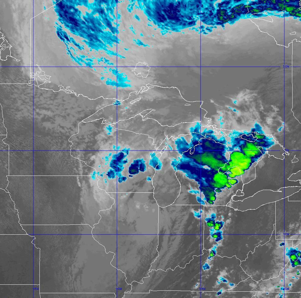Band 11 - 8.4 µm - Cloud Top - IR - 10 Jun 2020 - 2050 UTC