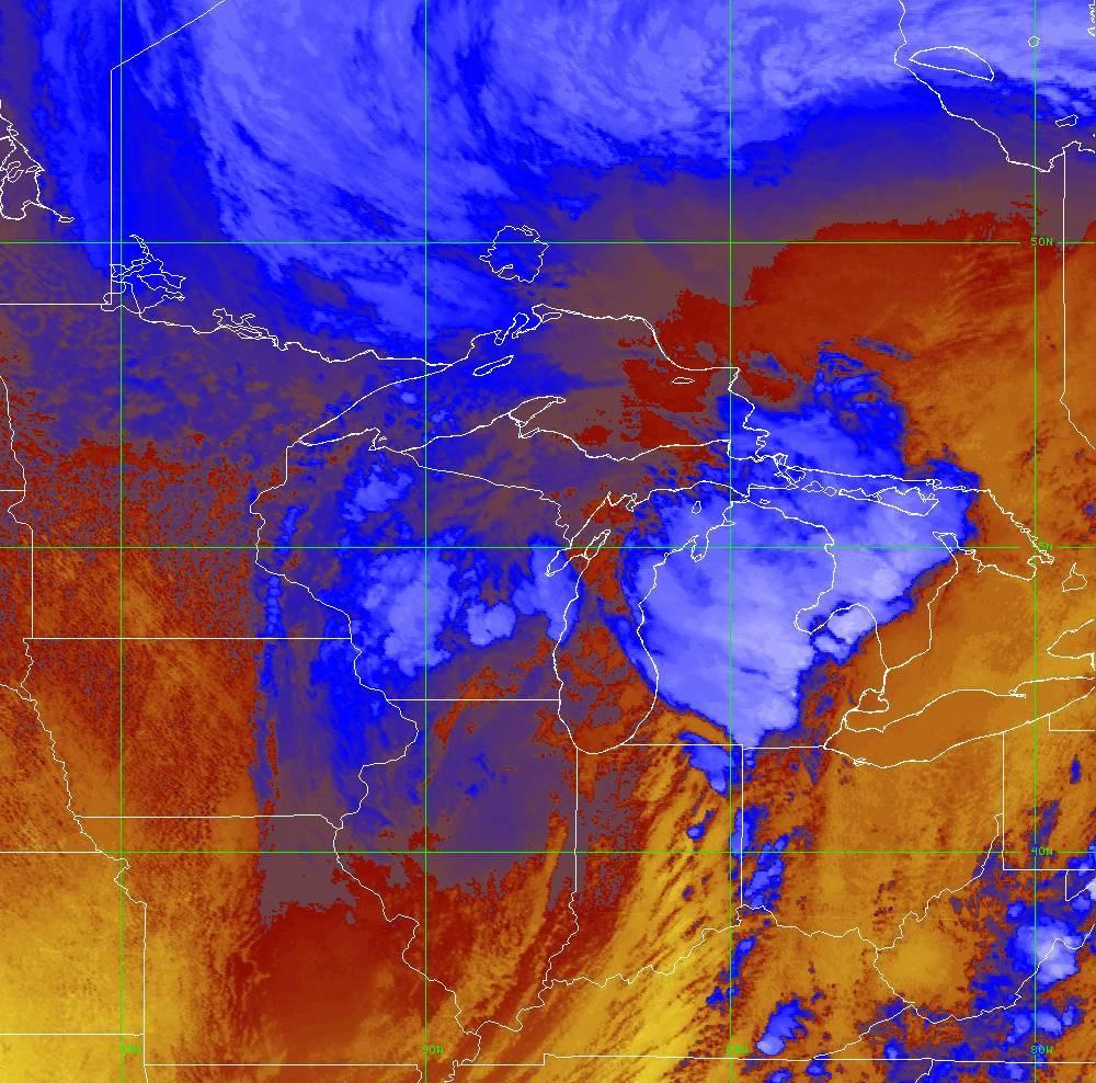 Band 16 - 13.3 µm - CO₂ Longwave - IR - 10 Jun 2020 - 2000 UTC