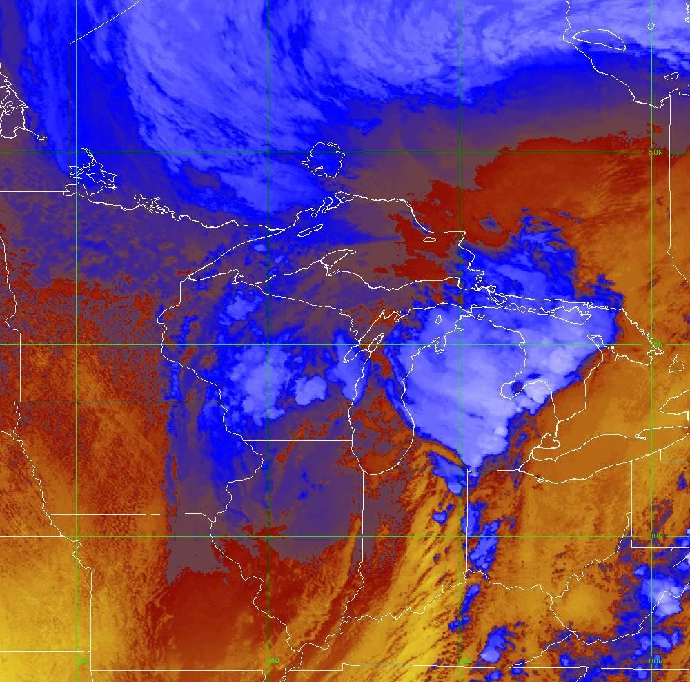 Band 16 - 13.3 µm - CO₂ Longwave - IR - 10 Jun 2020 - 2010 UTC