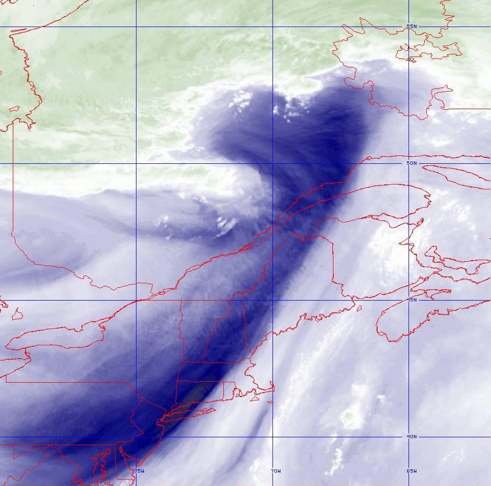 Band 8 - 6.2 µm - Upper-Level Water Vapor - IR  - 05 Aug 2020 - 1700 UTC