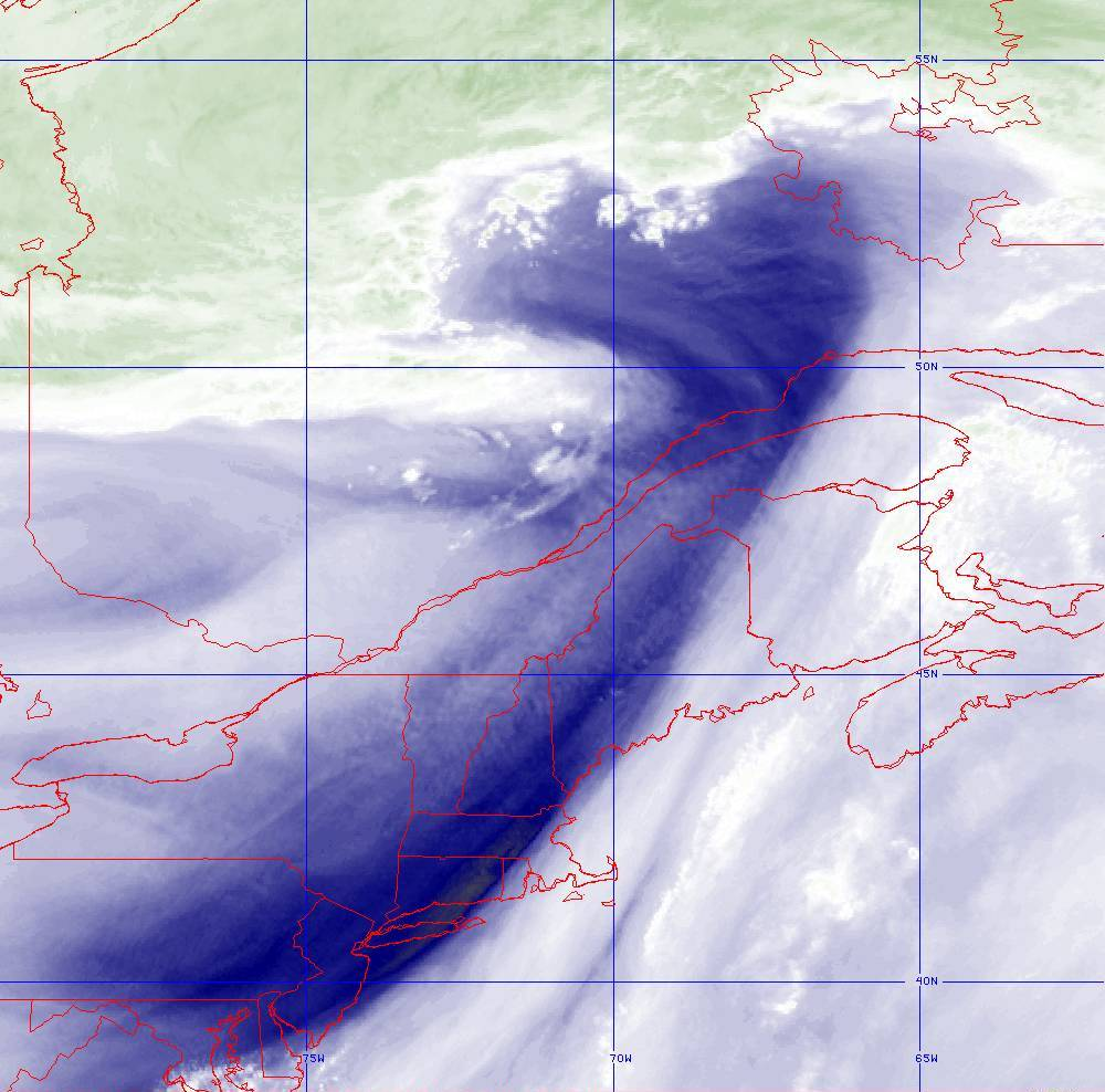 Band 8 - 6.2 µm - Upper-Level Water Vapor - IR  - 05 Aug 2020 - 1800 UTC