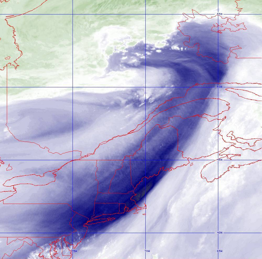 Band 8 - 6.2 µm - Upper-Level Water Vapor - IR  - 05 Aug 2020 - 2000 UTC