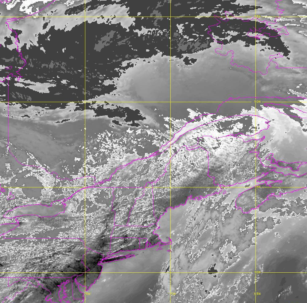 Band 14 - 11.2 µm - Longwave Window - IR - 05 Aug 2020 - 1610 UTC