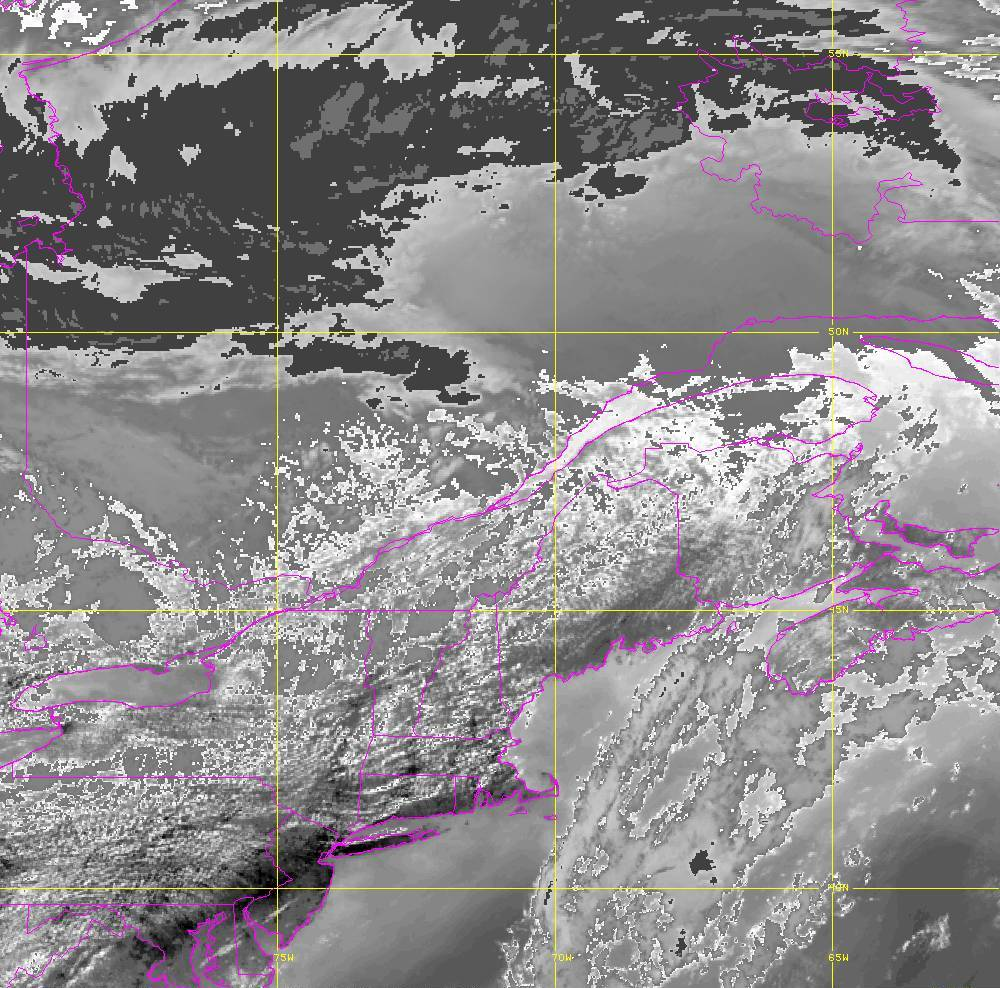 Band 14 - 11.2 µm - Longwave Window - IR - 05 Aug 2020 - 1640 UTC