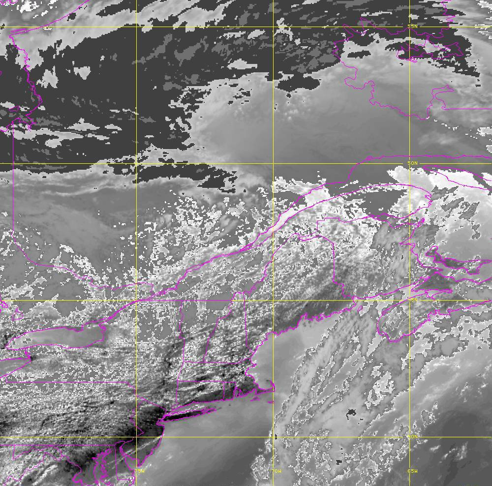 Band 14 - 11.2 µm - Longwave Window - IR - 05 Aug 2020 - 1710 UTC