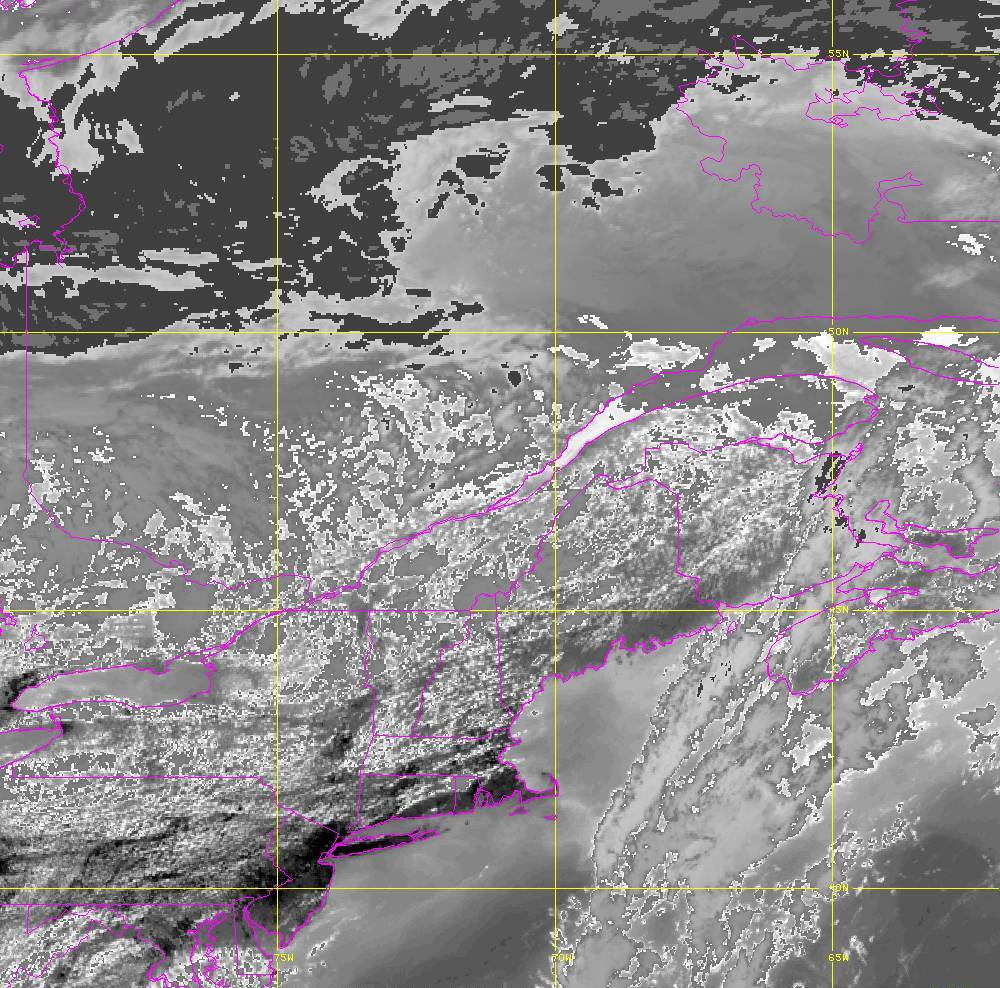 Band 14 - 11.2 µm - Longwave Window - IR - 05 Aug 2020 - 1820 UTC