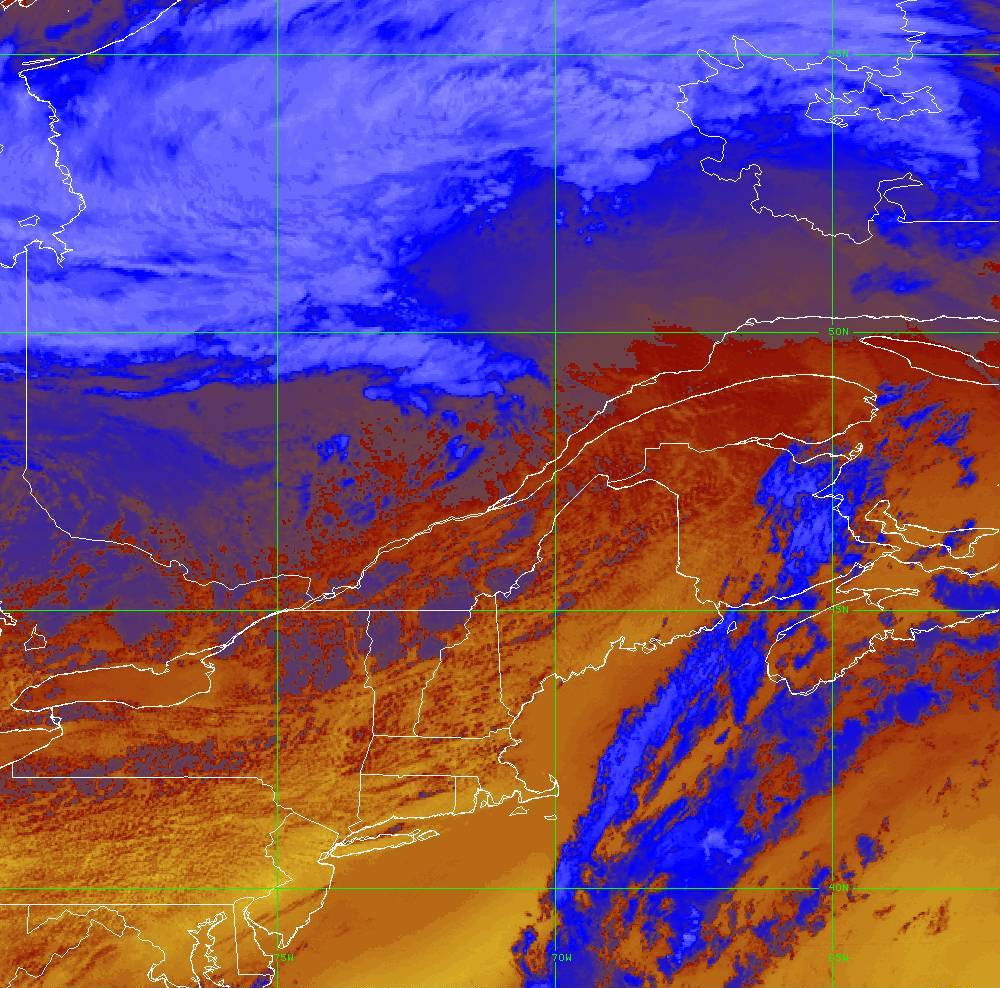Band 16 - 13.3 µm - CO₂ Longwave - IR - 05 Aug 2020 - 1710 UTC