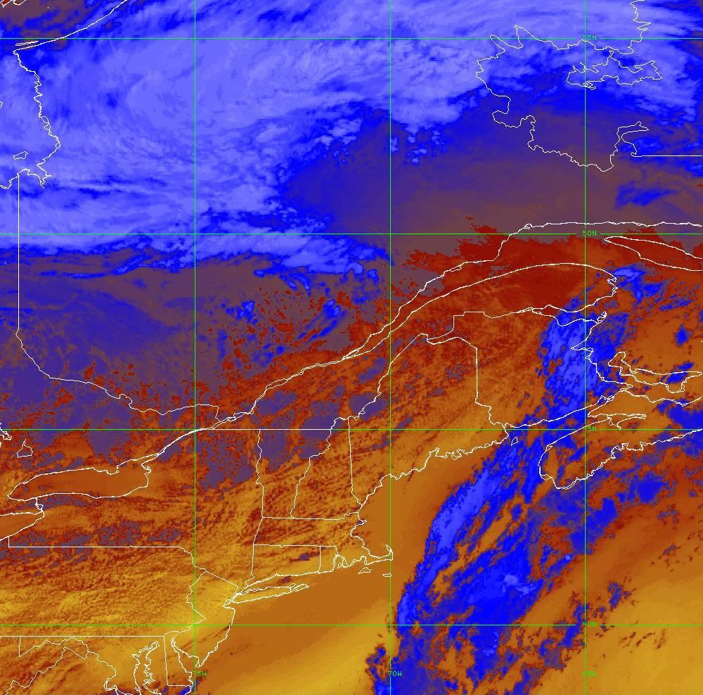 Band 16 - 13.3 µm - CO₂ Longwave - IR - 05 Aug 2020 - 1730 UTC