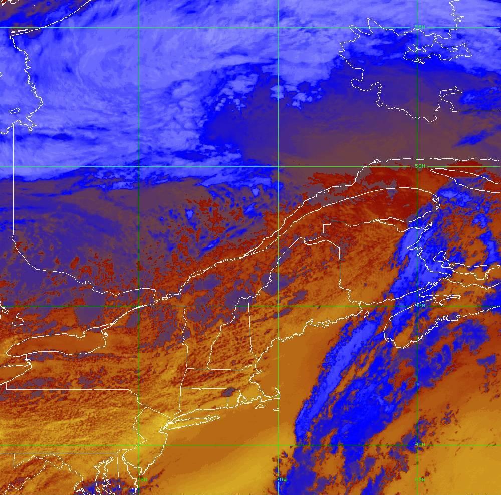 Band 16 - 13.3 µm - CO₂ Longwave - IR - 05 Aug 2020 - 1810 UTC