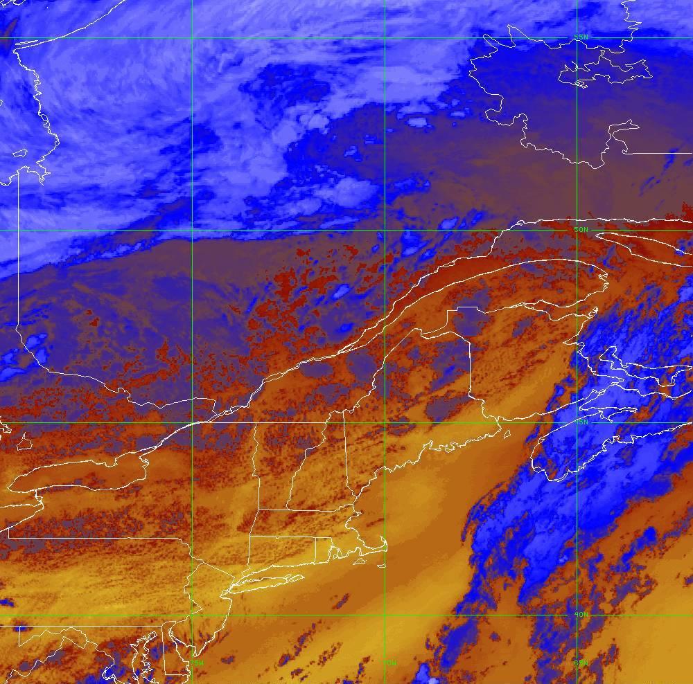 Band 16 - 13.3 µm - CO₂ Longwave - IR - 05 Aug 2020 - 2040 UTC