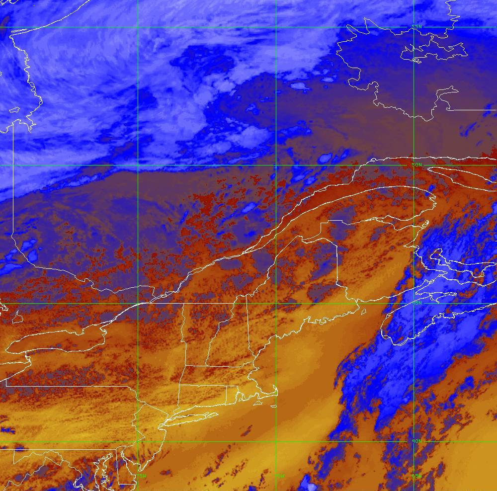 Band 16 - 13.3 µm - CO₂ Longwave - IR - 05 Aug 2020 - 2050 UTC