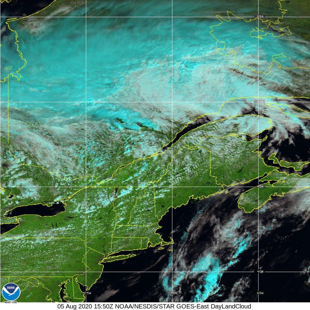 Day Land Cloud - EUMETSAT Natural Color - 05 Aug 2020 - 1550 UTC